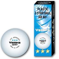 Yasaka Plastic AB 40+ 3 *** ITTF